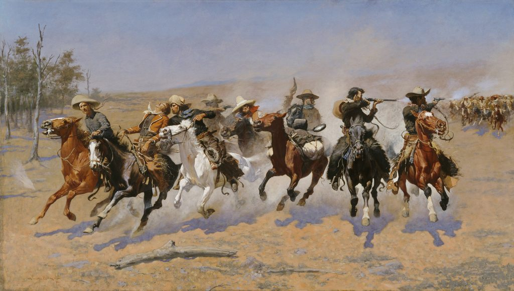 Die besten Cowboys treten im Team auf