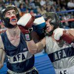 Boxer holt sich blutige Nase - aber auch anderswo kann das passieren