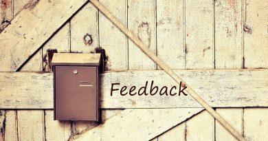 Briefkasten für Feedback - das muss nicht die einzige Feedback-Quelle sein