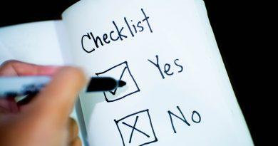 Checkliste: Yes und No
